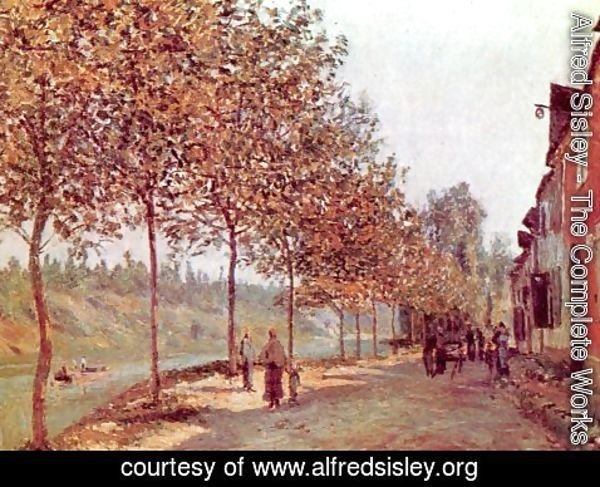 Alfred Sisley - Morning in June