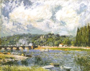 Alfred Sisley - The Bridge of Sevres