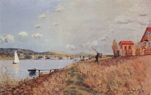 Alfred Sisley - The Bridge at Argenteuil