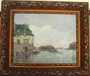Alfred Sisley - Inodation, Flood (Forgery?)