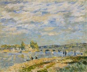 Alfred Sisley - Bridge at Serves