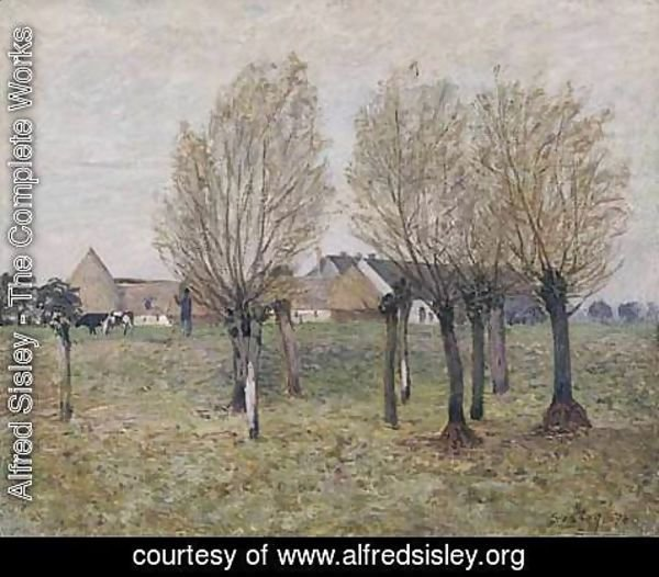 Alfred Sisley - A Normandy Farm
