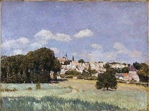 Alfred Sisley - View of Saint-Cloud, Sunshine