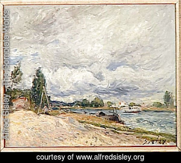 Alfred Sisley - Banks of the Seine