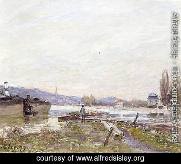 Alfred Sisley - Banks of the Seine I