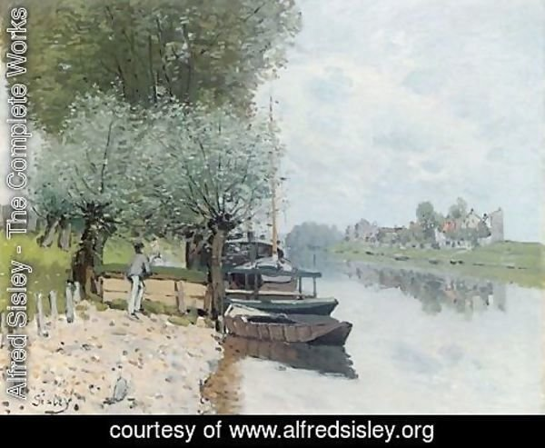 Alfred Sisley - The Seine at Bougival IV