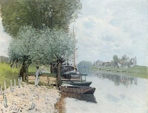 The Seine at Bougival IV