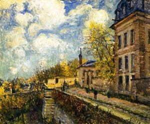 Alfred Sisley - The Factory at Sevres