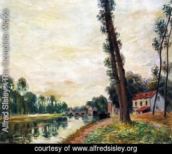Alfred Sisley - The Banks of the Loing