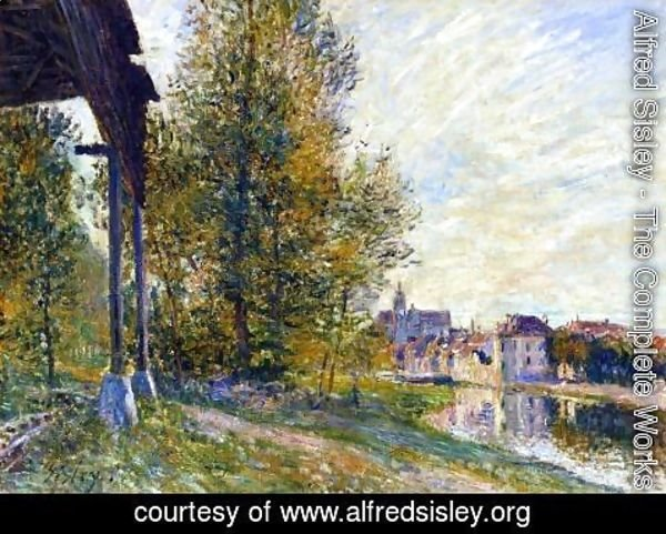 Alfred Sisley - Near Moret-sur-Loing