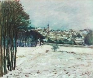 Snow at Marly-Le-Roi I