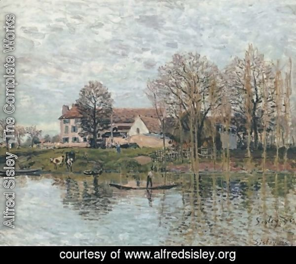 Alfred Sisley - Banks of the Seine at Port-Marly