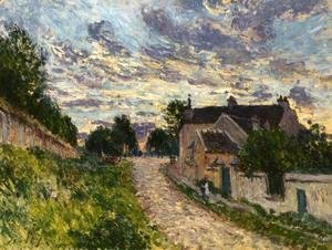 A Path in Louveciennes