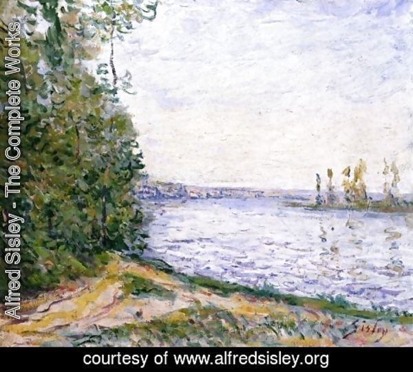 Alfred Sisley - The Seine near By