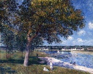 Alfred Sisley - Walnut Tree in a Thomery Field