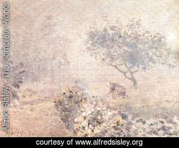 Alfred Sisley - Misty Morning
