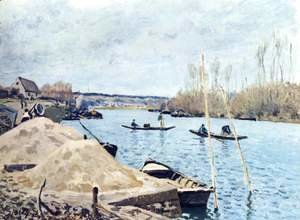 La Seine à Port-Marly