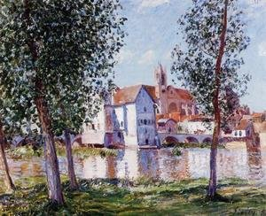 Alfred Sisley - Moret-sur-Loing 3