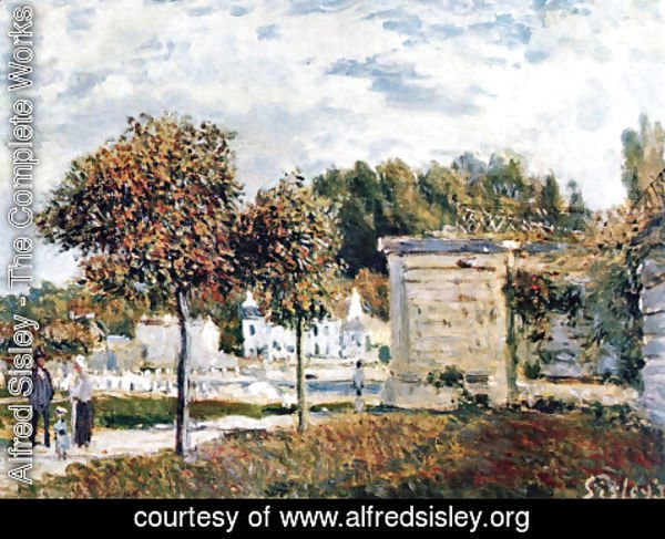 Alfred Sisley - Oversupply of Marly