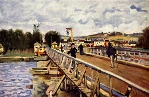 Alfred Sisley - Passerelle d'Argenteuil