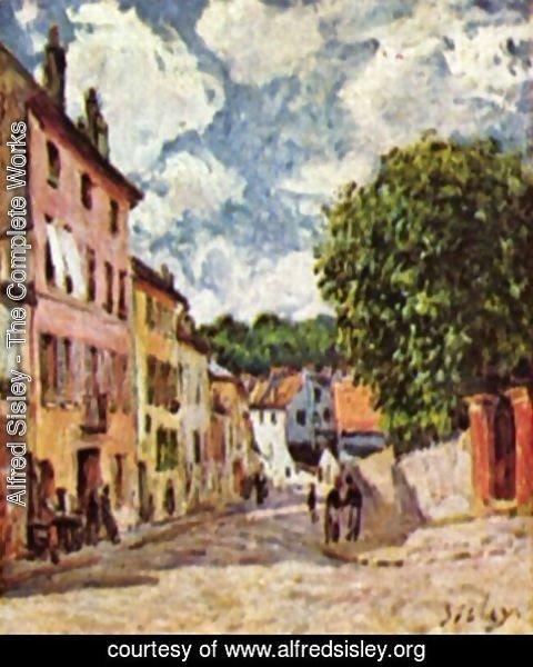 Alfred Sisley - Road in Moret-Sur-Loing