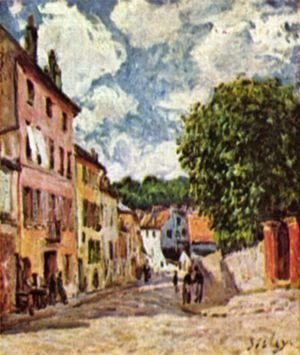 Road in Moret-Sur-Loing