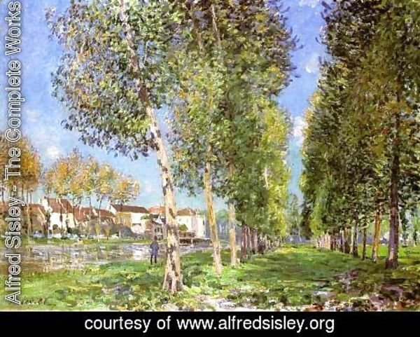 Alfred Sisley - The Island of Saint-Denis 2
