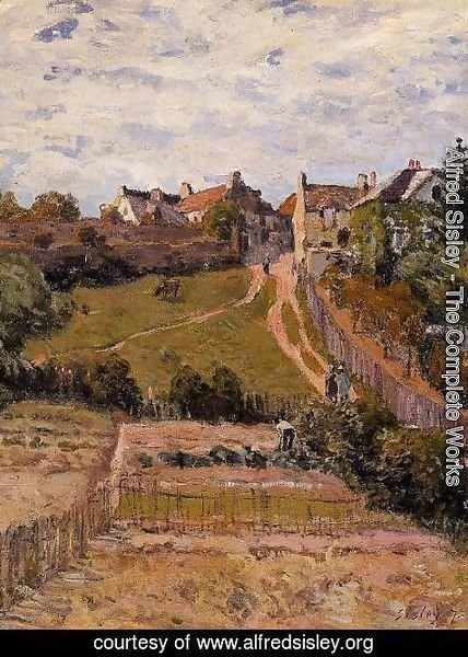 Alfred Sisley - The Rising Path 2