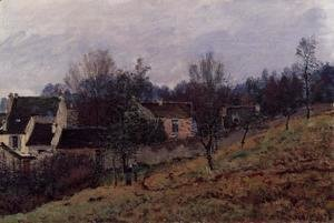 Alfred Sisley - Autumn in Louveciennes  1873