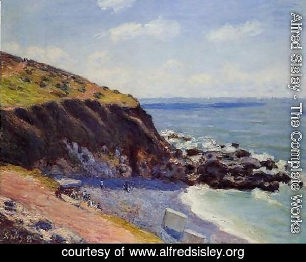 Alfred Sisley - Lady's Cove - Langland Bay Morning  1897