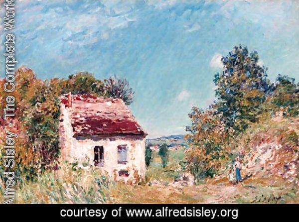 La Maison Complete alfred sisley - the complete works - la maison abondonnee
