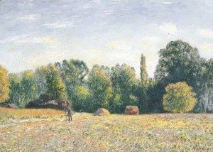 Alfred Sisley - Lisiere de foret