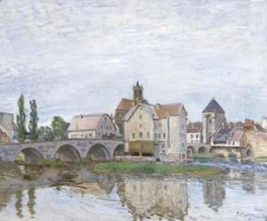 Alfred Sisley - Moret-sur-Loing 2