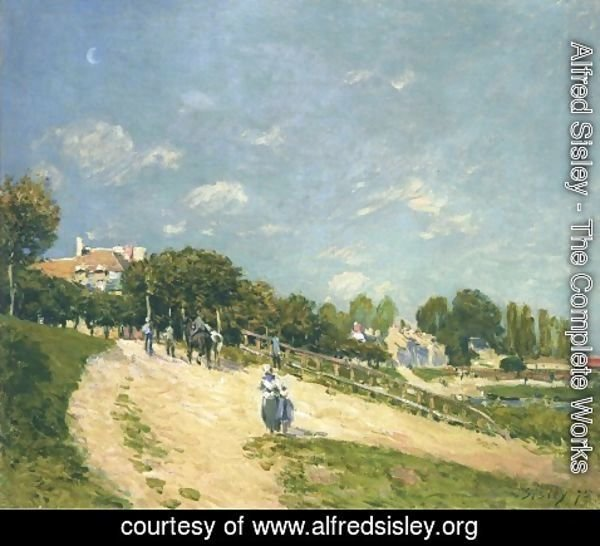Alfred Sisley - Paysage aA'A  Andresy