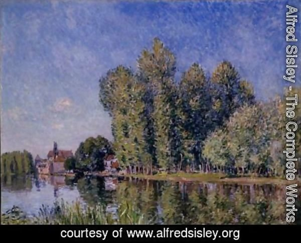 Alfred Sisley - Le Loing A Moret 2