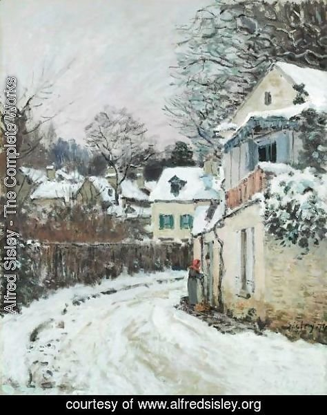 Alfred Sisley - Route A Louveciennes