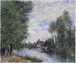 Alfred Sisley - Ete A Moret