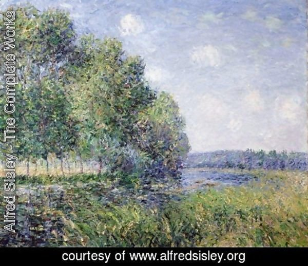 Alfred Sisley - The Seine at Verneuil