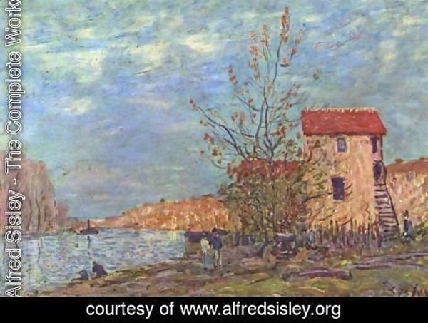 Alfred Sisley - The Loing at Moret 2