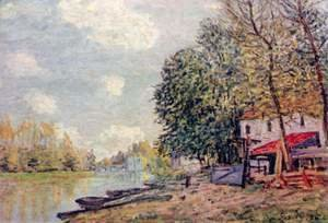 Alfred Sisley - The Loing at Moret 3