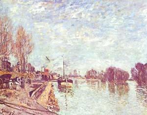 Alfred Sisley - The Seine at Suresne