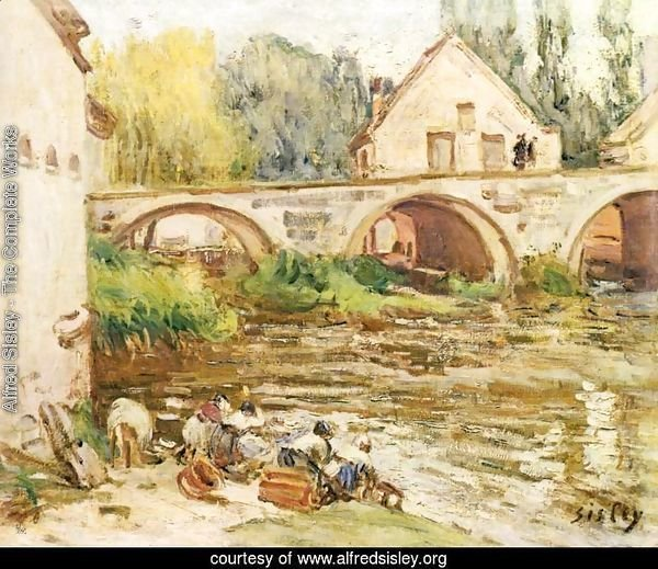 The laundresses of Moret