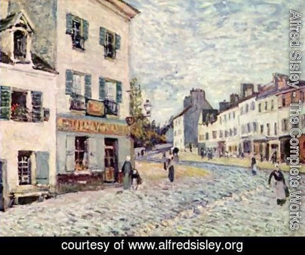 Alfred Sisley - Street in Marly