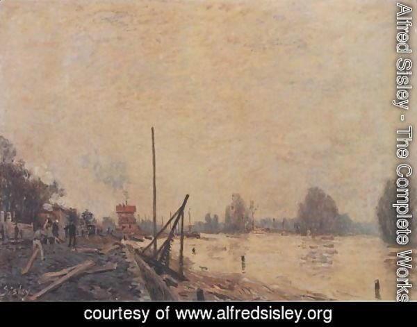 Alfred Sisley - The Seine at Suresnes
