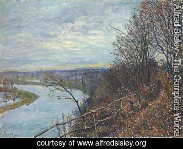 Alfred Sisley - November Afternoon