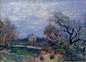 Alfred Sisley - Border of the Woods