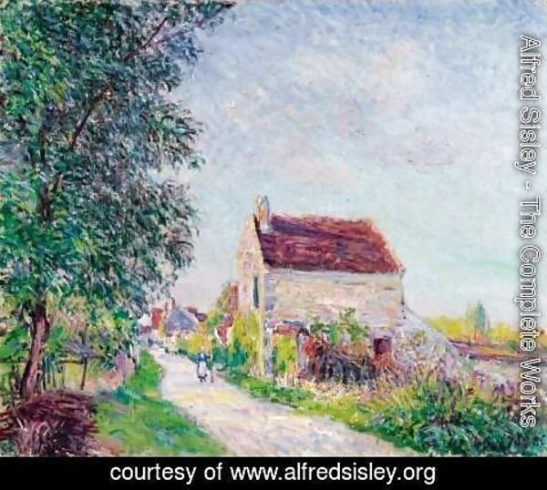 Alfred Sisley - The village of Sablons