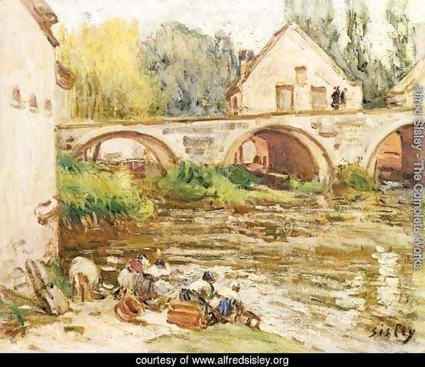 The Washerwomen of Moret 2