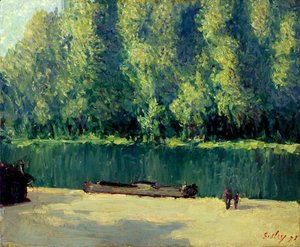 Alfred Sisley - By the Loing 2
