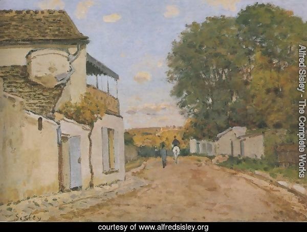 Princesse Street in Louveciennes